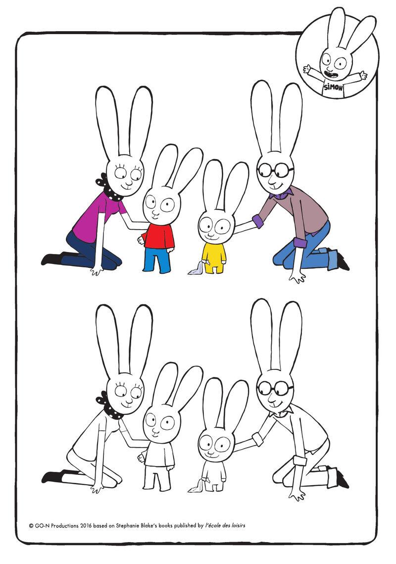 Simon - met familie