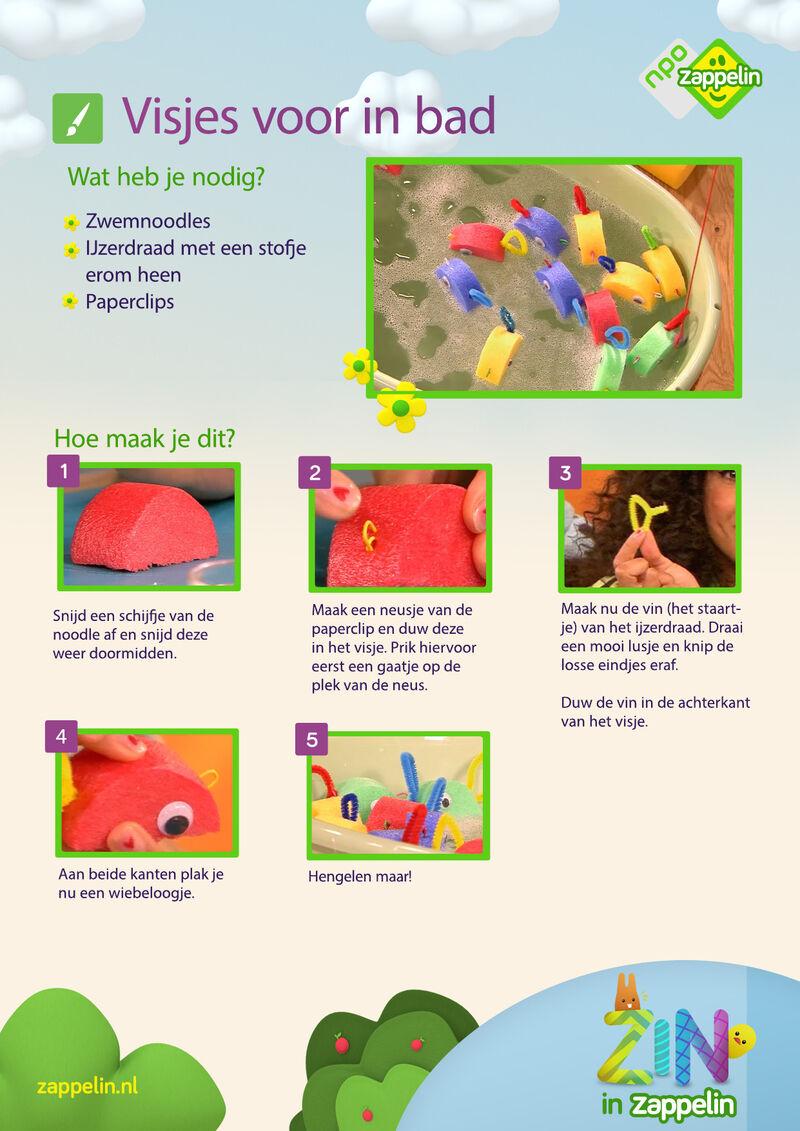 Zin in Zappelin - Vissen