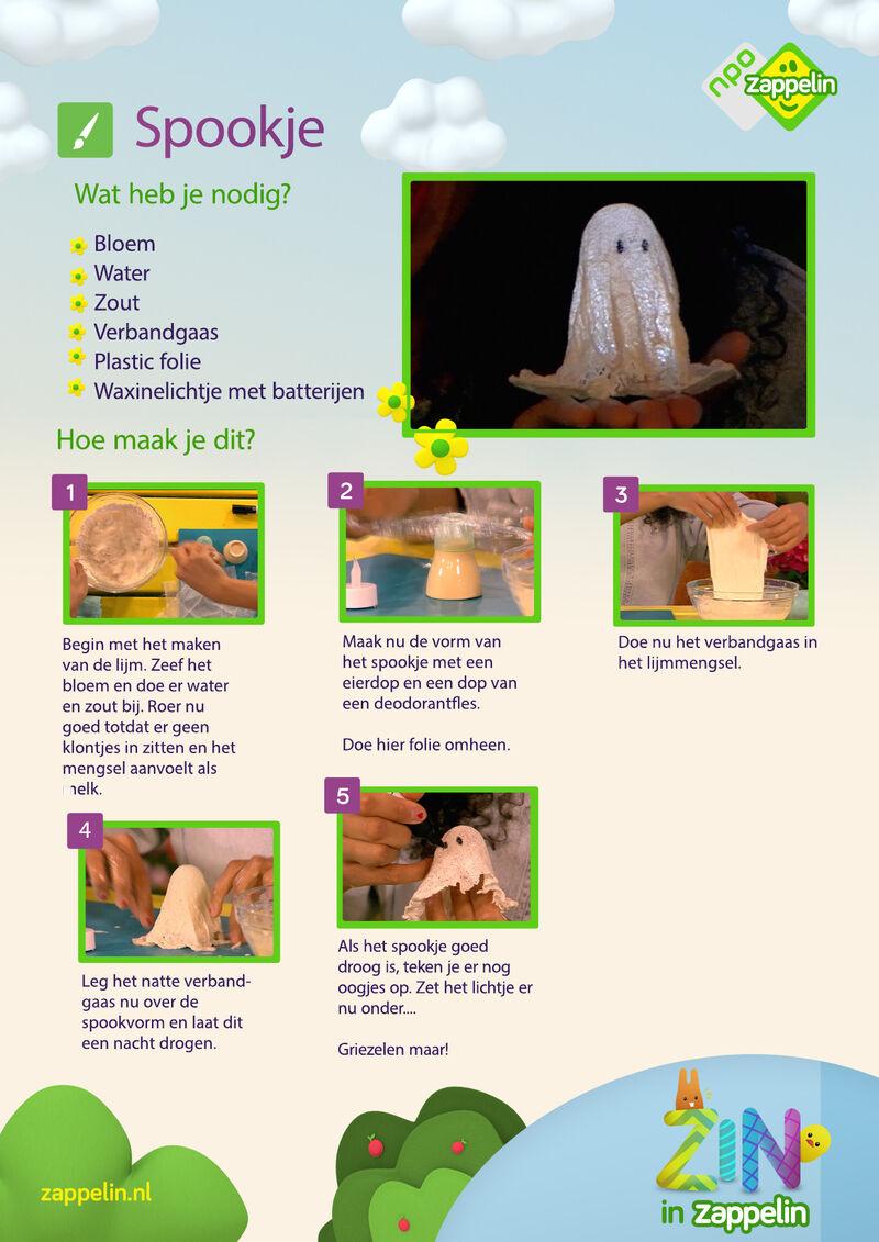Zin in Zappelin - spookje