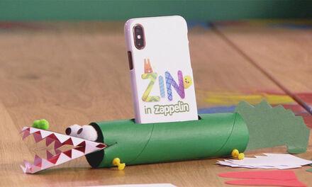 Zin in Zappelin - Telefoonhouder