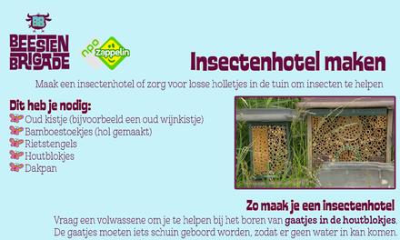 Beestenbrigade - Insectenhotel