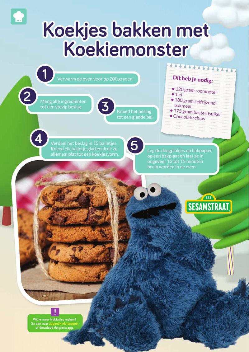 Sesamstraat - Koekjes van Koekiemonster