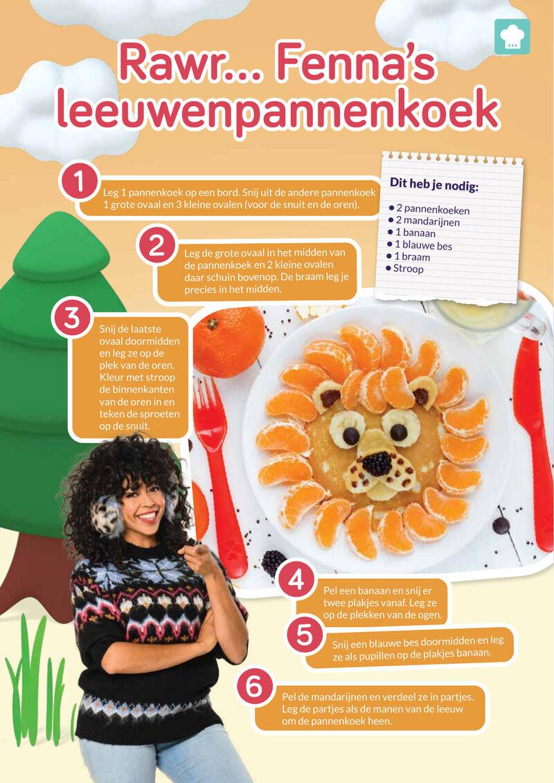 Fenna - Leeuwenpannenkoek