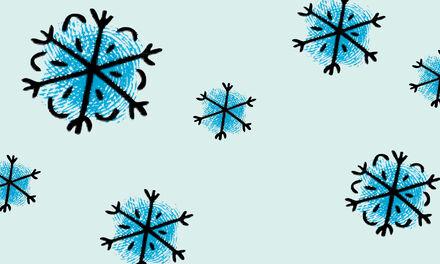 Winter - Vingerverven