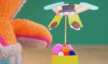 Zin in Zappelin - Een wiebelig clowntje