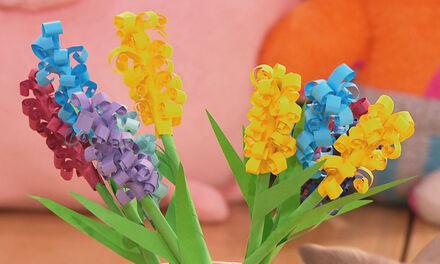 Zin in Zappelin - Hyacinten van papier