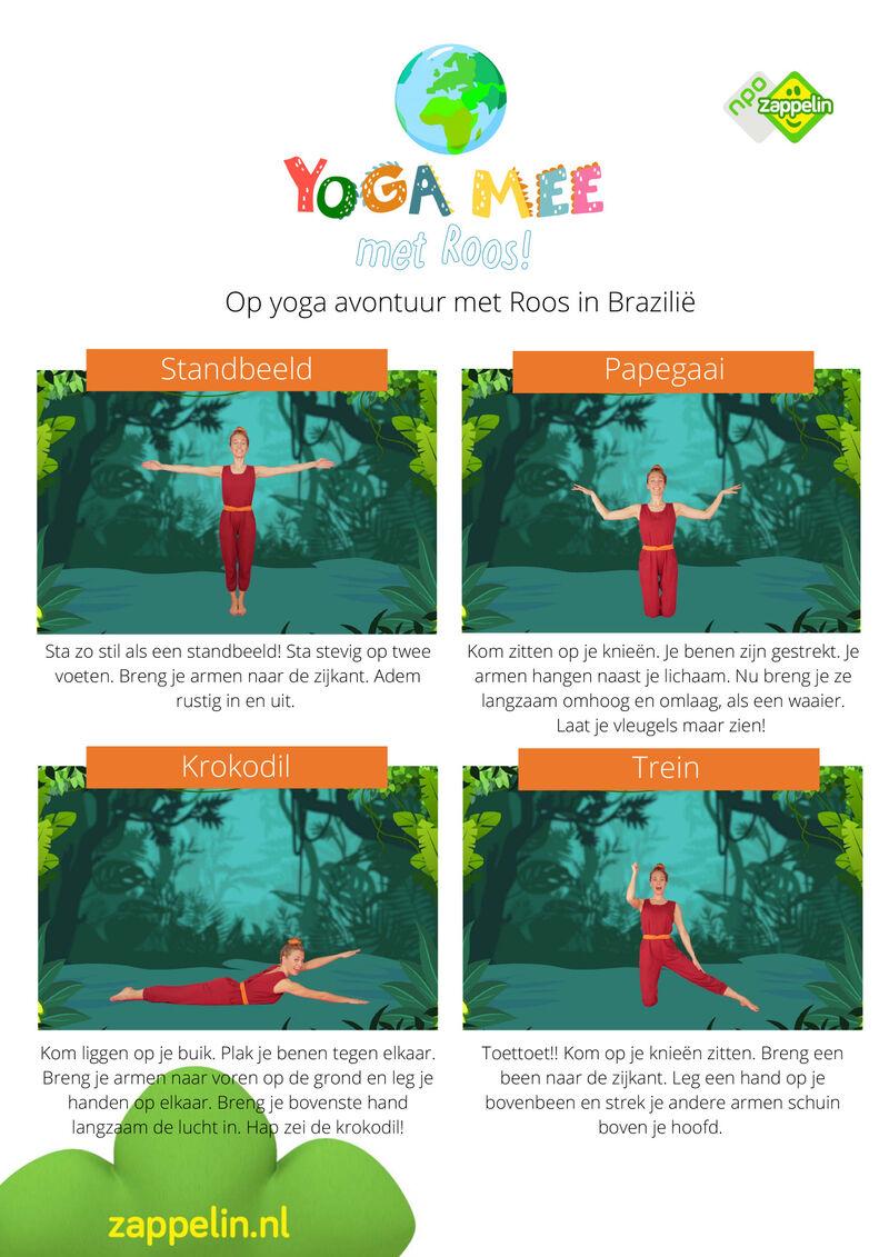 Yoga mee met Roos in Brazilië