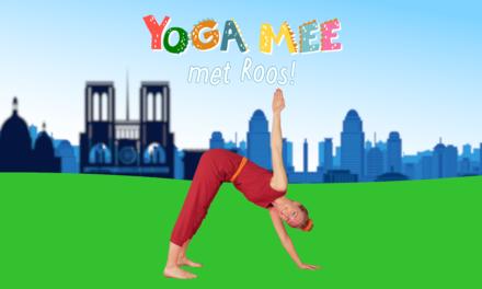 Yoga mee met Roos in Frankrijk