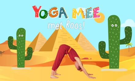 Yoga mee met Roos in Egypte