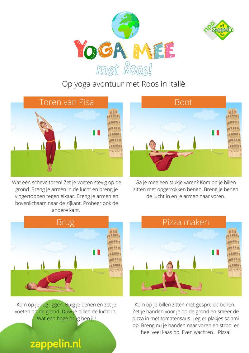 Yoga mee met Roos in Italië