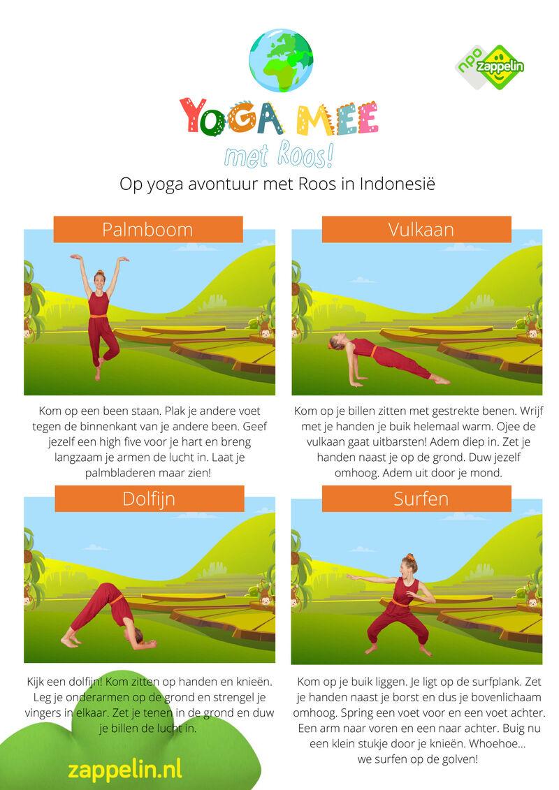 Yoga mee met Roos in Indonesie