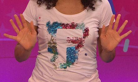 Zin in Zappelin - Disco- shirt