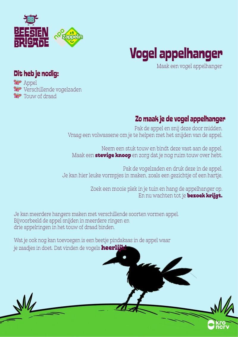 Beestenbrigade - Vogel appelhanger