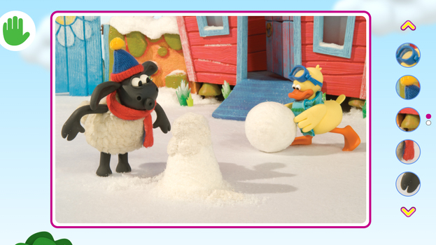Timmy Tijd in de sneeuw